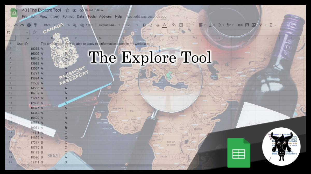 Google Sheets Beginners: Understanding The Explore Tool (43)