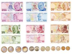 العملة التركية الليرة ياهلا اسطنبول