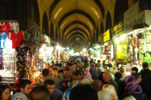 صورة من داخل السوق