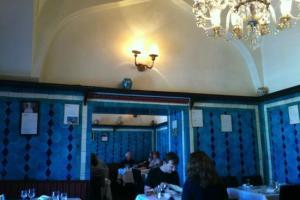 صورة من داخل المطعم