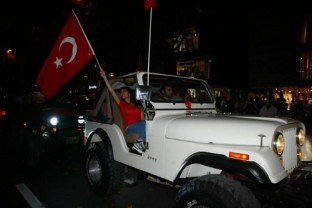 الاحتفالات في الشوارع