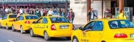سيارات الاجرة في اسطنبول Taksi
