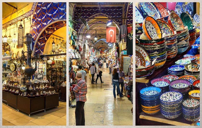 السوق المغلق باسطنبول