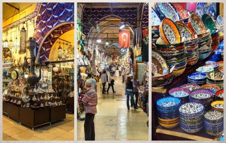 السوق المسقوف في اسطنبول – البازار الكبير
