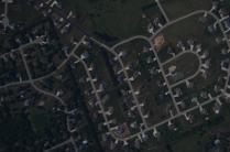 Suburban development in Sun Prairie