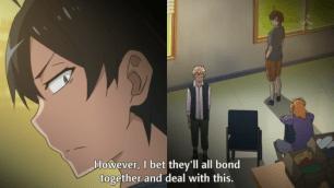 Hayama Hayato (葉山 隼人)'s ideal is vastly different from Hikigaya Hachiman (比企谷 八幡)'s. (Yahari Ore no Seishun Love Comedy wa Machigatteiru. Yahari Ore no Seishun Love Come wa Machigatteiru. Yahari Ore no Seishun Rabukome wa Machigatte Iru. Oregairu My Youth Romantic Comedy Is Wrong, as I Expected. My Teen Romantic Comedy SNAFU やはり俺の青春ラブコメはまちがっている。 俺ガイル 果然我的青春戀愛喜劇搞錯了。 ep 8)