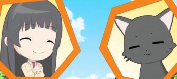 Kowata Makoto agrees with Chito that today is warm. (Flying Witch Petit ep 8)