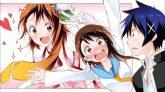 Ichijou Raku & Onodera Kosaki (in original & magical girl version). (Magical Patissier Kosaki-chan!! & Nisekoi)