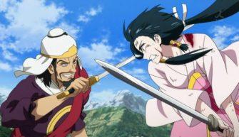 Ren Hakuei tries to stop Ryosai. - Magi: The Lybyrinth Of Magic