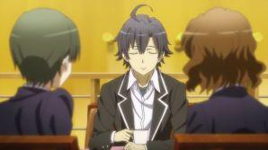 It's not fun to see Hikigaya Hachiman (比企谷 八幡) like this. (Yahari Ore no Seishun Love Comedy wa Machigatteiru. Yahari Ore no Seishun Love Come wa Machigatteiru. Yahari Ore no Seishun Rabukome wa Machigatte Iru. Oregairu My Youth Romantic Comedy Is Wrong, as I Expected. My Teen Romantic Comedy SNAFU Yahari Ore no Seishun Love Comedy wa Machigatteiru. Zoku Yahari Ore no Seishun Love Come wa Machigatteiru. Zoku Oregairu Zoku My Teen Romantic Comedy SNAFU TOO! やはり俺の青春ラブコメはまちがっている。 やはり俺の青春ラブコメはまちがっている。続 俺ガイル 果然我的青春戀愛喜劇搞錯了。 果然我的青春戀愛喜劇搞錯了。續 ep 4)