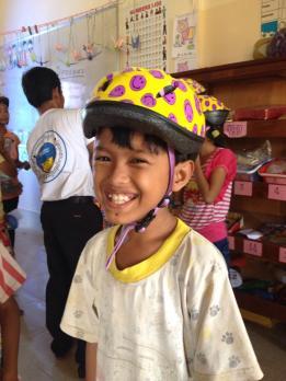 A Helmet, Save a Life