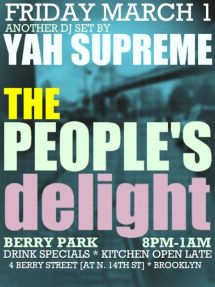 peoples delight march 1