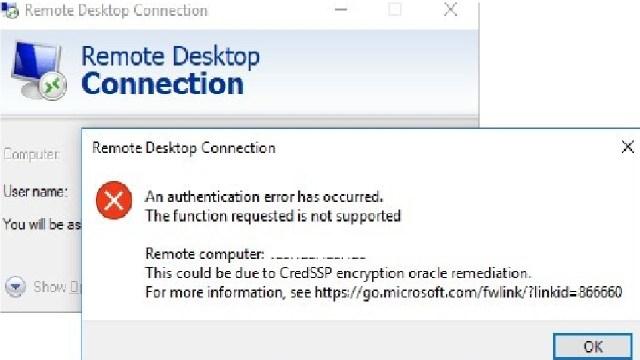 Windows RDP Sorunu (CredSSP)