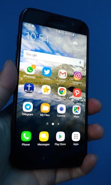 Uji Tahan Air Samsung Galaxy