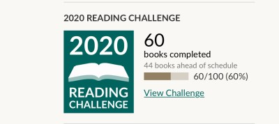 Goodreads February Progress