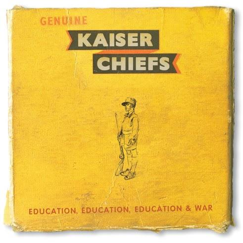 Kaiser Chiefs album artwork for Education, Education, Education War