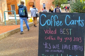 Where to find the best coffee on campus at the University of Newcastle