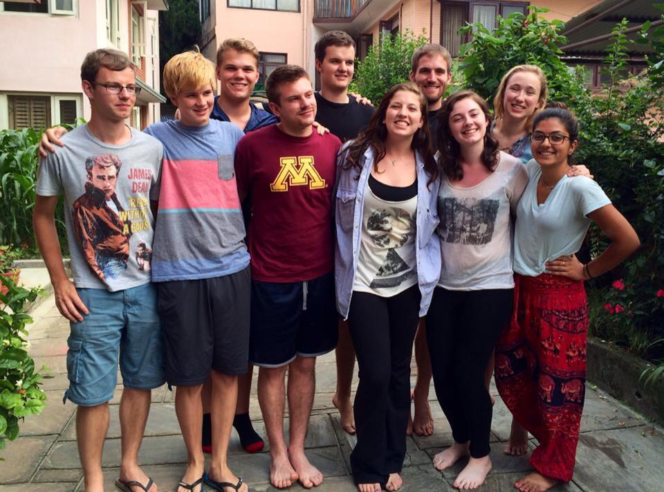 Nepal student group