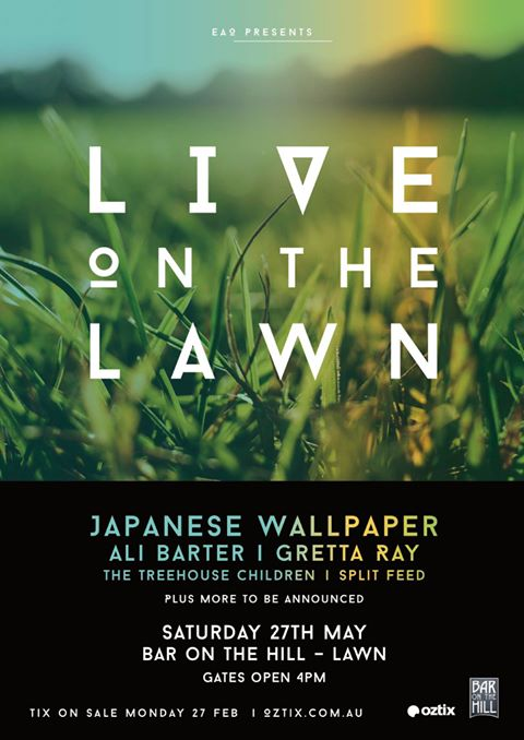 live on lawn