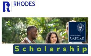 Rhodes Scholarship 2022 spring/summer falls