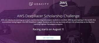 Udacity Scholarship: AWS DeepRacer For International Students