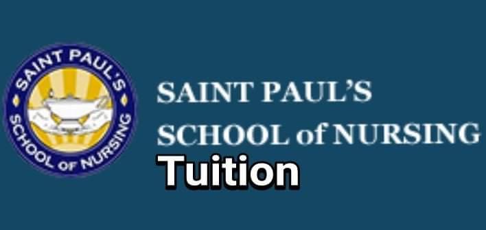 St Paul's School of Nursing Tuition