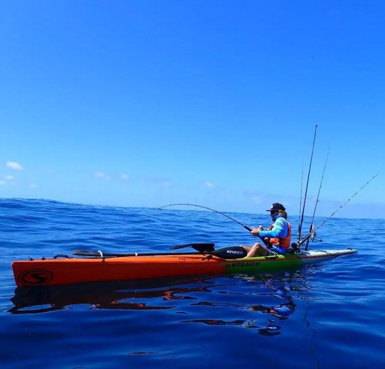 Foreign Kayak Stealth Profisha