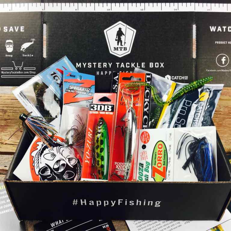 Mystery Tackle Box monthly fishing box