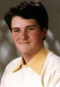Bewerbungsfoto 1986