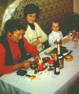 Mit Oma Hella und Oma Roberty