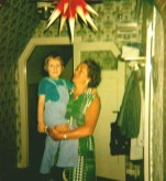 Auf Oma Roberty's Arm