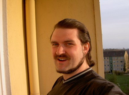 In Uetersen auf dem Balkon