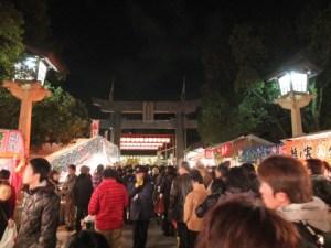 成田山で初詣に行くなら混雑する時間を確認してから出掛けて下さい。