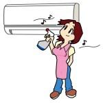 エアコンの掃除方法。自分でやるフィルター、ファンの洗浄。カビ除去