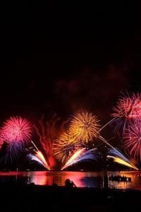 鎌倉花火大会の穴場スポットは人気ですから、早めに場所取りを!