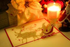 クリスマスカードのメッセージ。英語で彼氏や彼女へ贈る英文の文例