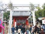 西宮神社の初詣2017。混雑時間と期間はいつまで?屋台の出店情報