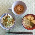 納豆×味噌汁で栄養満点の朝食に!美容にも最適!女性必見!