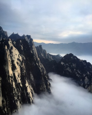 Towards the West Peak