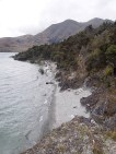 West shore of Stevensons Island, Wanaka
