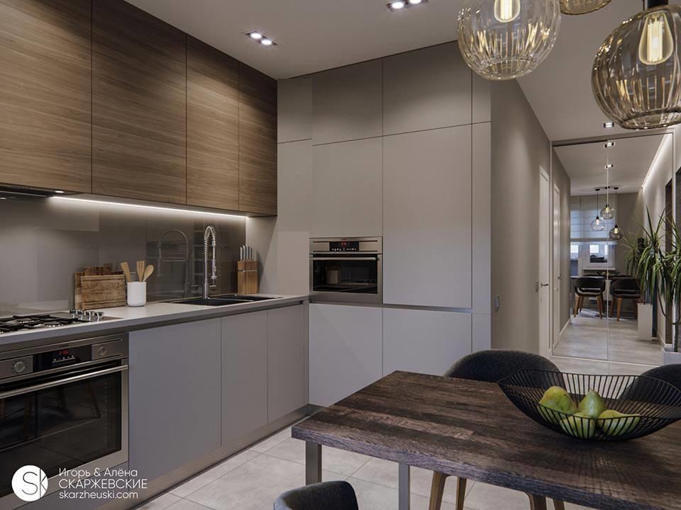 جولة في شقة عصرية صغيرة مساحة 60 متر بتصميم ذكي وديكورات متناسقة