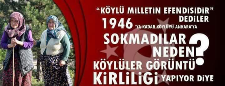 Köylüyü Ankara'ya sokmadılar