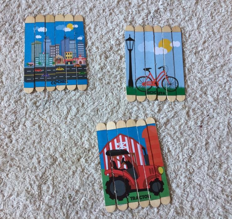 puzzles con palitos