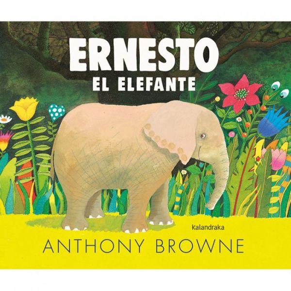 Portada Ernesto el elefante