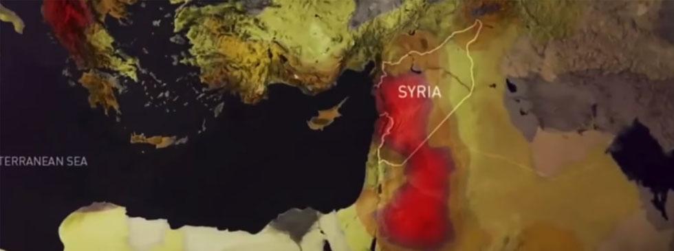 Map of Mediterranean region