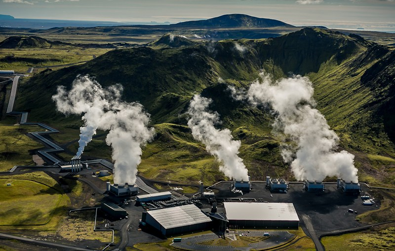 Iceland power plant