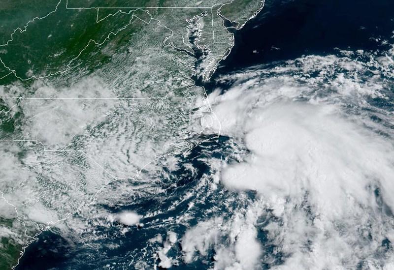 98L satellite image