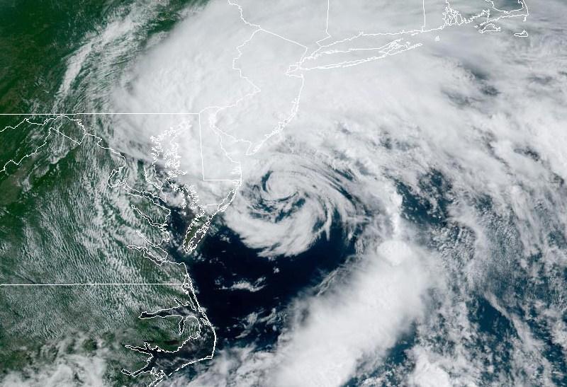 Fay satellite image