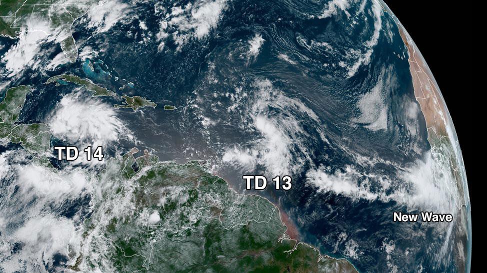 TD satellite image