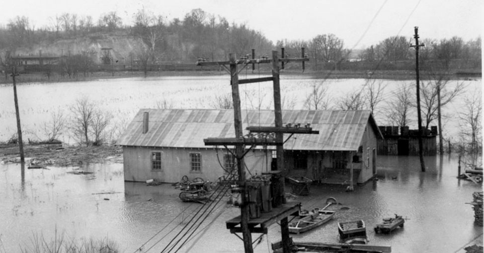 Flooding in 1937